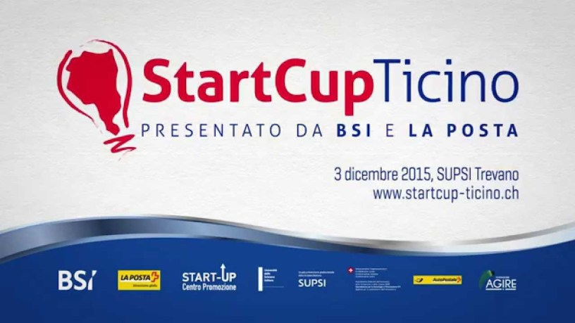 startcup ticino 2015 awarding the best new business idea in ticino